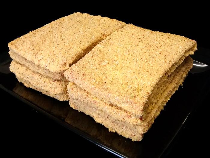 Escalopes de ternera empanados